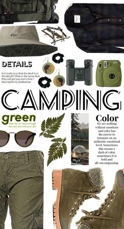 Camping Mood: Green