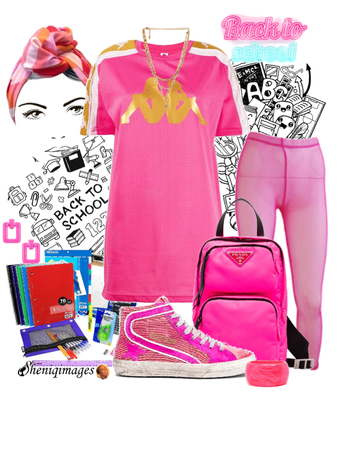 Back to School Chic by Sheniq