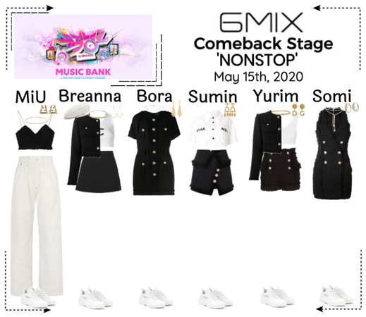 《6mix》Music Bank Comeback Stage