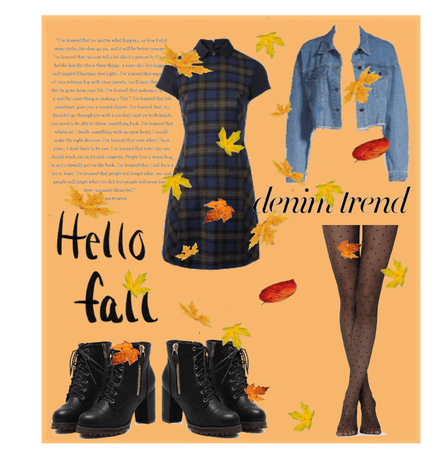 Denim Jacket Fall Outfit