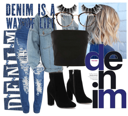 Denim Goes with Everything