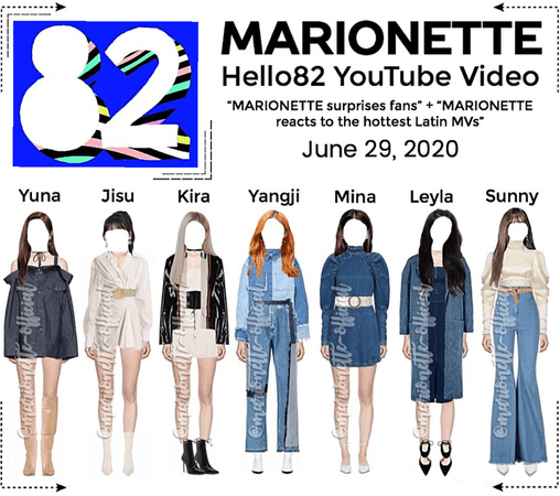 MARIONETTE (마리오네트) Hello82 YouTube Channel