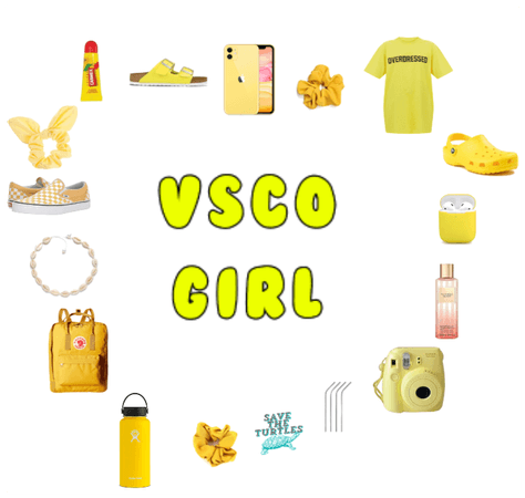 VSCO yellow pack