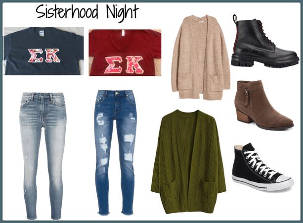 Sisterhood night