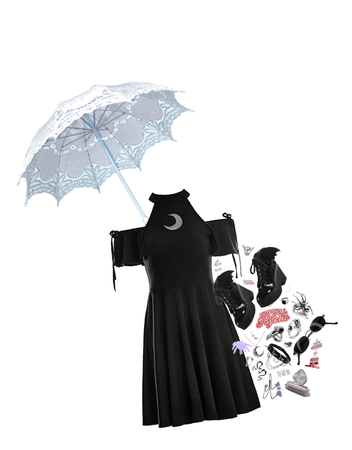 pastel and goth