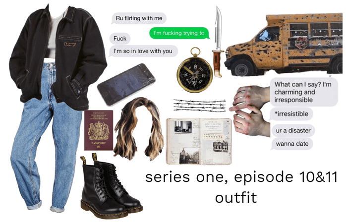 series one, episode 10&11 - outfit