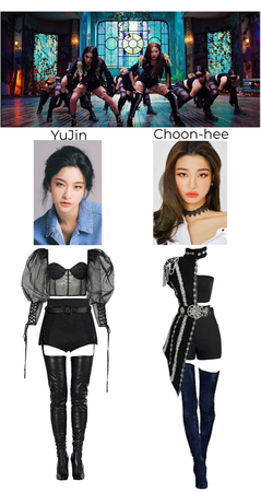 BL4CKFOX's YuJin + Choon-hee 2nd group scene in duet MV 'Hülya'