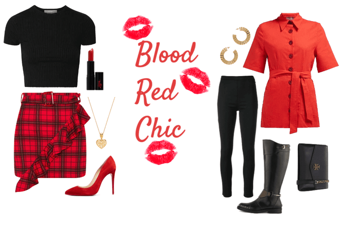 Blood Red Chic