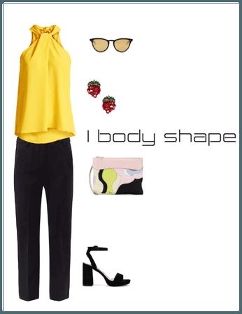 I (Lean Column) Body Shape