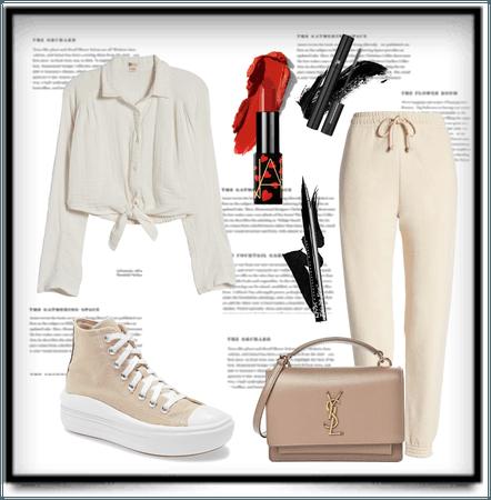 Cream-ish Beige-ish outfit
