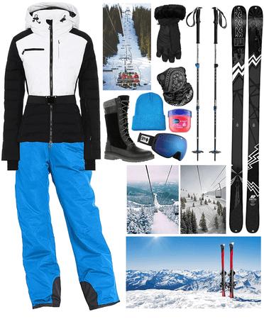 skiing ⛷
