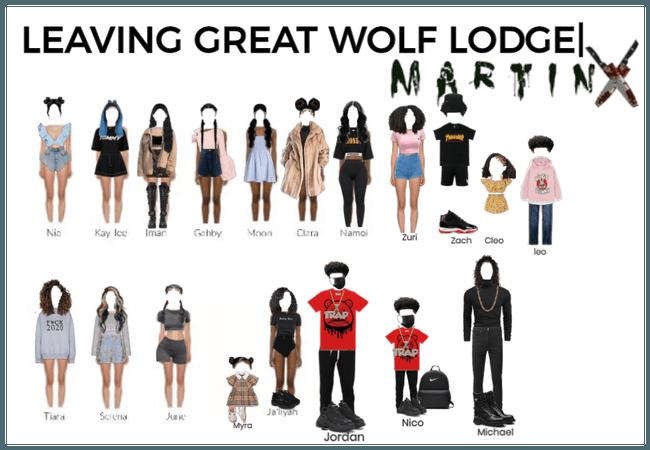 Leaving great wolf lodge  MARTINX