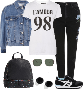 Casual look # 1