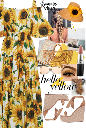 Sunflower Summer Vibes