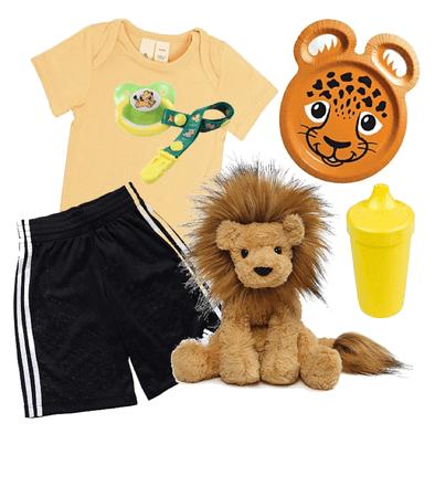 Safari Cub (age regression outfit)
