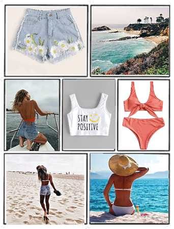 Summer vibes ☀️🌈🌊