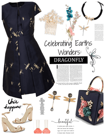 Celebrating earths wonders: Dragonfly