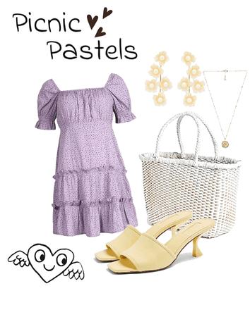 picnic pastels
