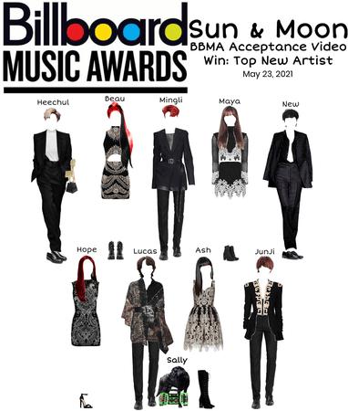 Sun & Moon Billboard Music Awards Acceptance Video