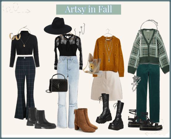 Artsy in Fall