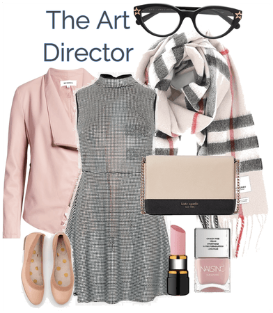 BURBERRY SCARF | Outfit 3 | The Art Director