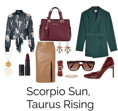 Scorpio Sun, Taurus Rising