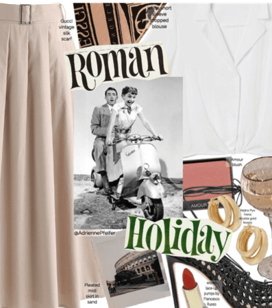 Roman Holiday: Movie Inspired Costumes🇮🇹
