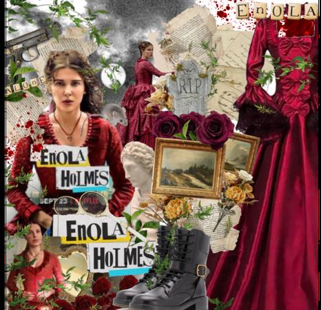 Enola Holmes- A mystery adventure