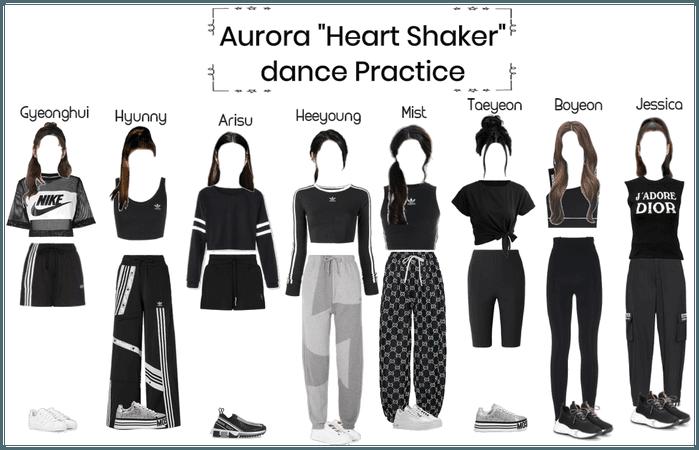 Aurora Heart Shaker Dance practice