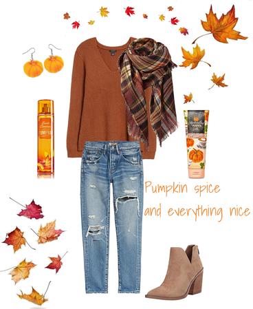 fall pumpkins and Halloween delight