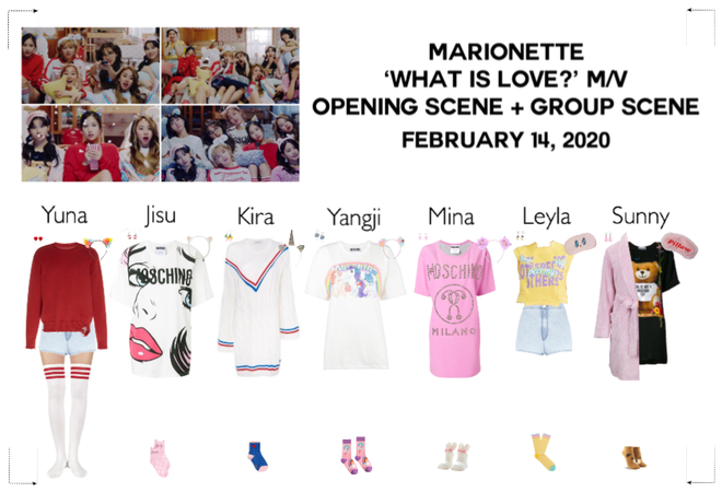 MARIONETTE (마리오네트) 'What is Love?' Music Video