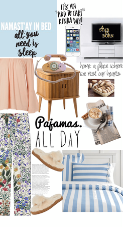 Pajama Comfy Day