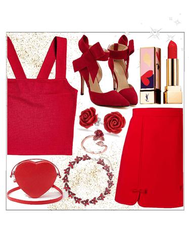 dima in red ❤️