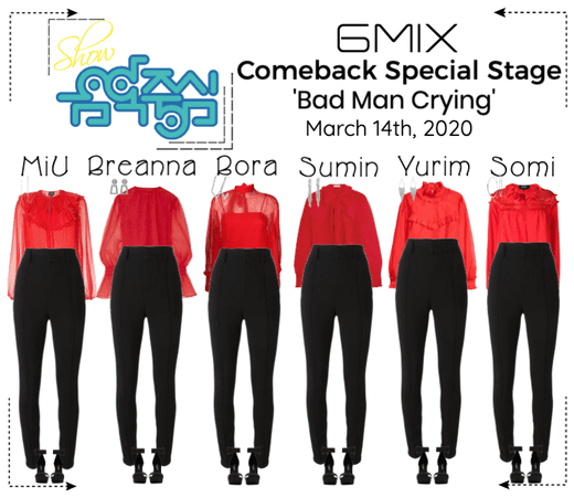 《6mix》Show! Music Core Comeback Special Stage