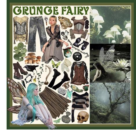 Grunge Fairy Aesthetic