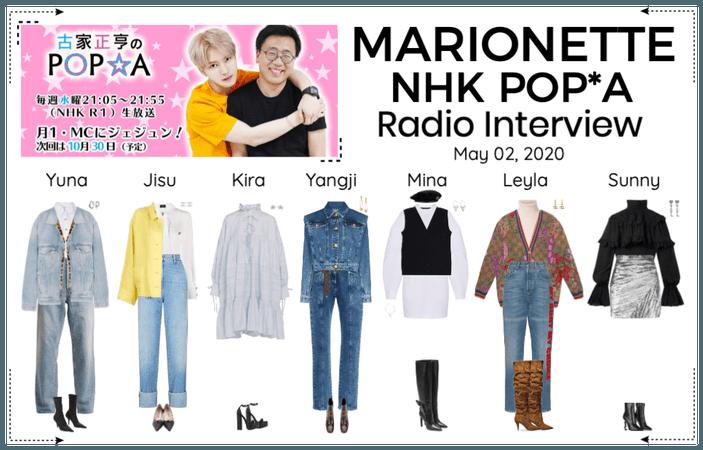 MARIONETTE (마리오네트) NHK POP*A Radio Interview