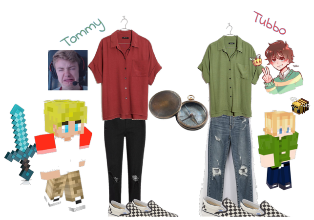 Your Tommy and Your Tubbo inspired outfits