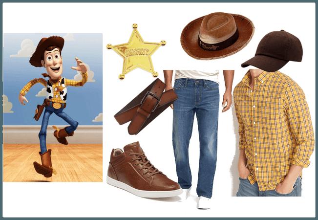 Disneybound Woody