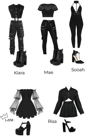 WICKED - BLACK DRESS