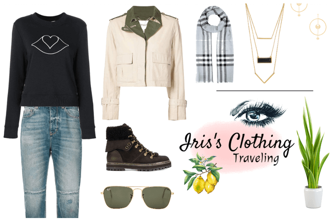 Iris's Traveling Outfit