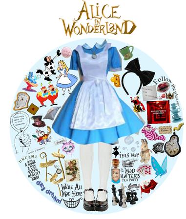 Alice in wonderland🐇❤️🌹