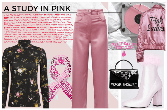a stydy in pink