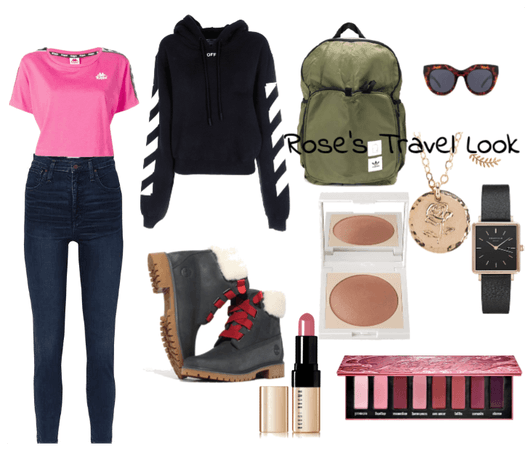 Rose's Travel Look
