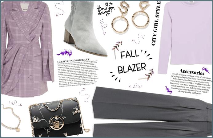 Fall blazer!