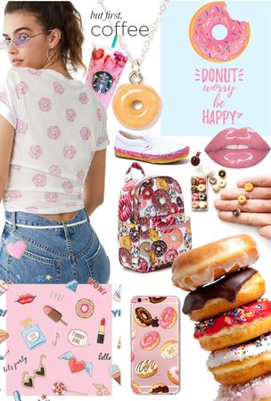 Donut Themed