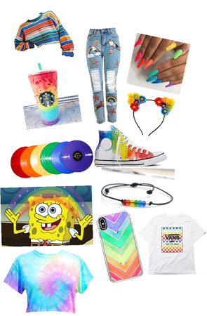 all the rainbow things I want