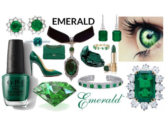 Gem: Emerald Aesthetic