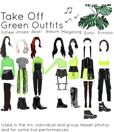 Take Off (green outfits)