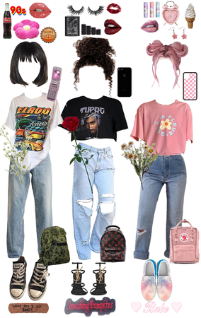 Choose your streetsyle aesthetic