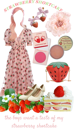 🍰 strawberry shortcake🍓